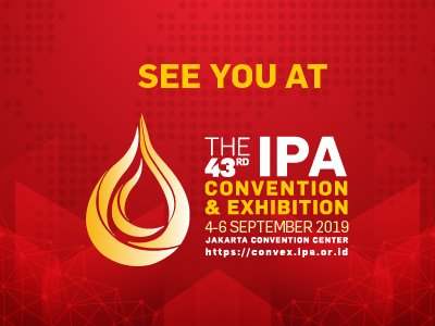 2019 IPA Convention & Exhibiiton | Jkarta Convention Center | Jakarta | Indonesia