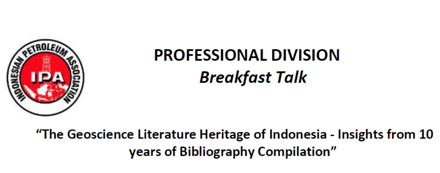 The Geoscience Literature Heritage of Indonesia - Insights from 10 years of Bibliography Compilation