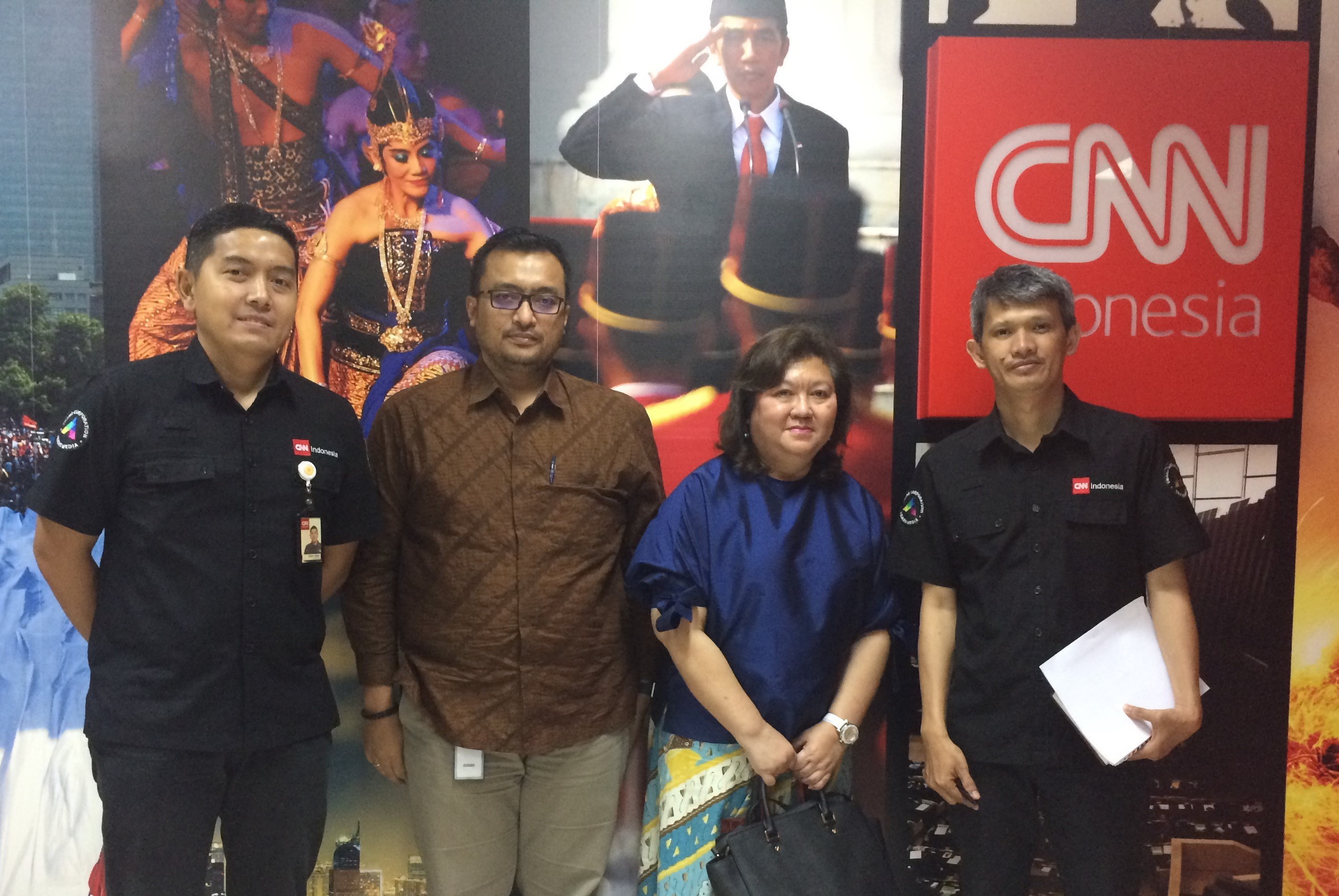 IPA goes to CNN Indonesia